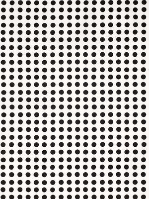 London Polka Dot Pattern Cotton Linen Home Decor Fabric by the Meter or by the yard for curtains, blinds, upholstery in Black ships from Canada (USA)