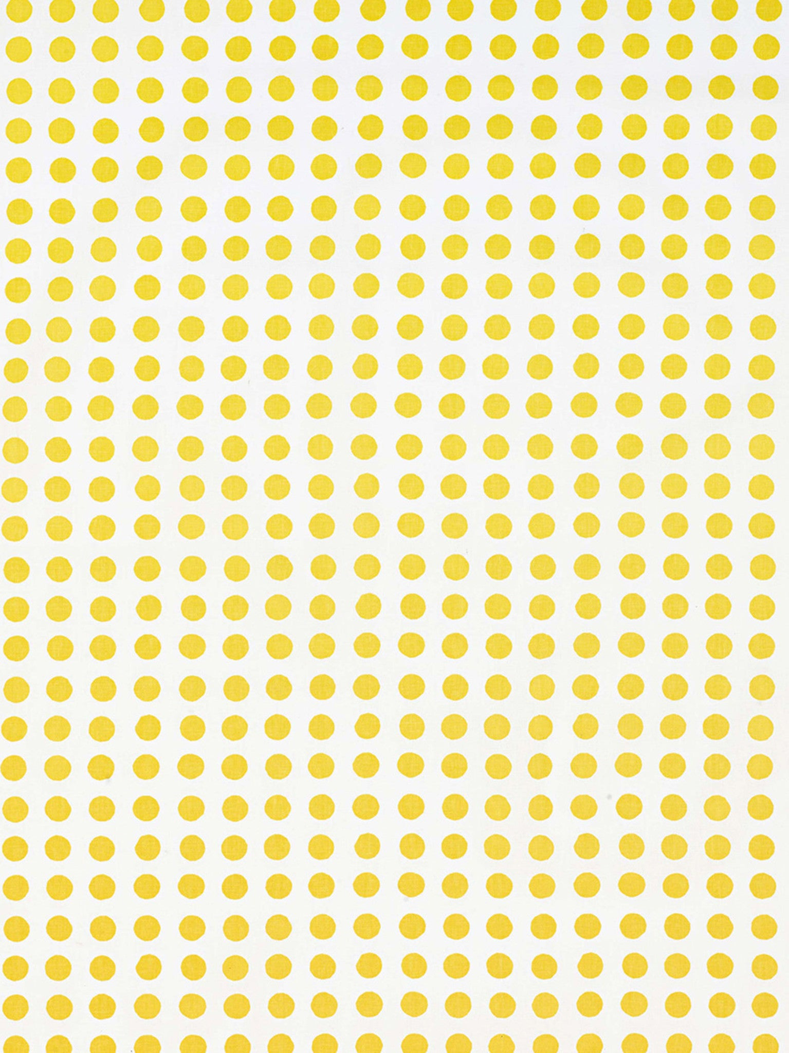London Polka Dot Pattern Cotton Linen Home Decor Fabric by the Meter or by the yard for curtains, blinds, upholstery in Maize Yellow ships from Canada (USA)