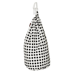 etoile home London polls dot drawstring laundry bag