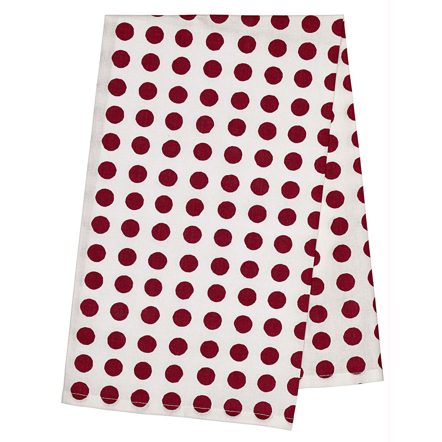 London Tea Towel - Vermilion Red