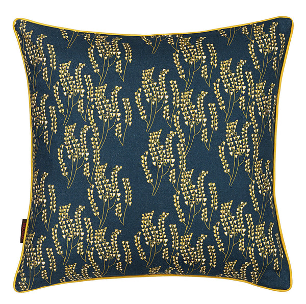 Maricopa Cushion - Petrol with Maize