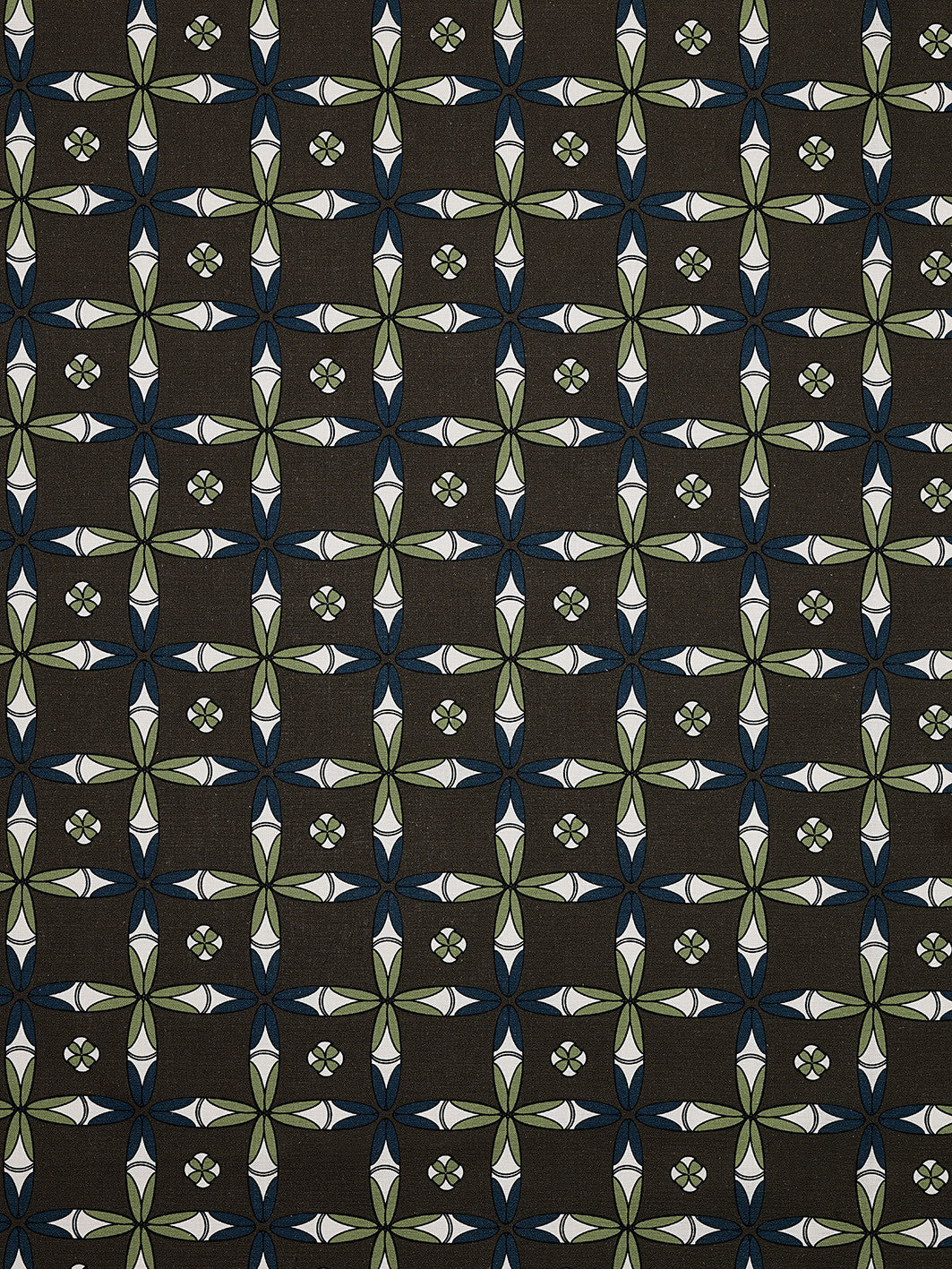 Navajo Geometric Ethnic Pattern Cotton Linen Home Decor Fabric by the meter or by the yard for curtains, blinds, upholstery - Stone Grey - Canada (USA)