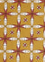 Navajo Ethnic Geometric Pattern Cotton Linen Home Decor Fabric by the Meter by the Yard for curtains, blinds, upholstery - Gold - canada (USA)