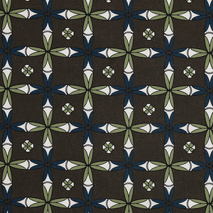 Navajo Geometric Ethnic Pattern Cotton Linen Home Decor Fabric by the yard or meter for curtains, blinds or upholstery - Stone Grey - canada (USA)
