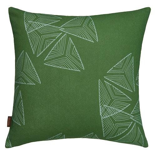 Stay Sails Decorative Throw Pillow in Olive Green and Sea Foam Ships from Canada worldwide including the USA