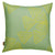 Stay sails large decorative designer throw pillow in Sea foam green and mustard ships from canada world-wide including the USA