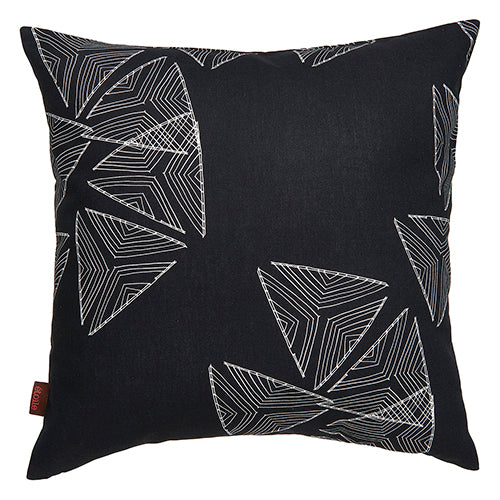 "Stay Sails Black & White Decorative Throw Pillow 55cm (22"") ships from Canada worldwide including the USA"