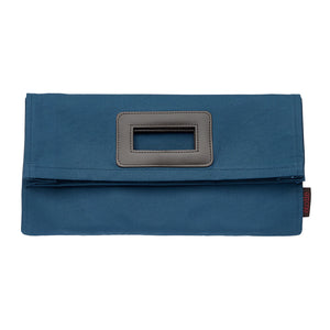 Stephanie Clutch Bag - Stone Grey