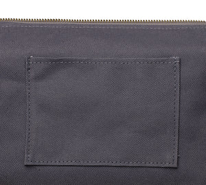 Canvas Toiletry Travel Bag - Petrol Blue