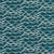 Waves Home Decor Fabric in Dark Petrol Blue for Curtains, Blinds, Upholstery in Cotton Linen ships from Canada to Usa