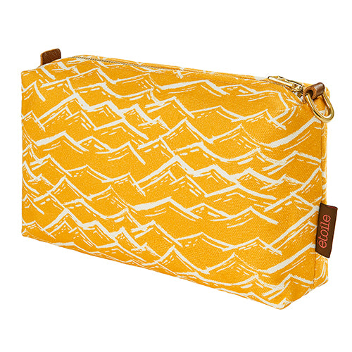 Waves Toiletry Travel Bag - Maize Yellow