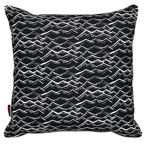 Waves-pattern-black-throw-pillow-cushion-canada-usa