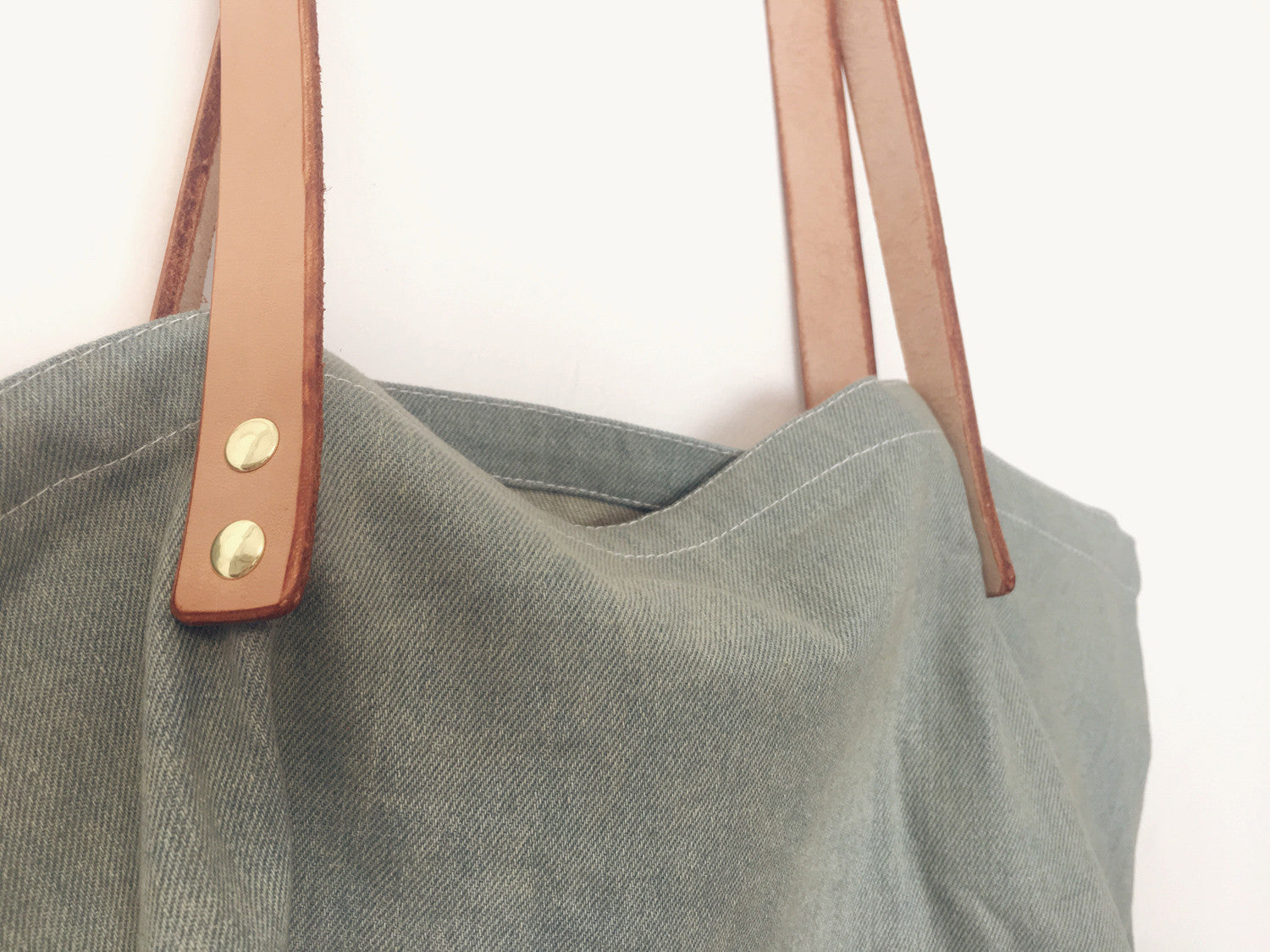 Gaby Denim Tote by Liana Rosa