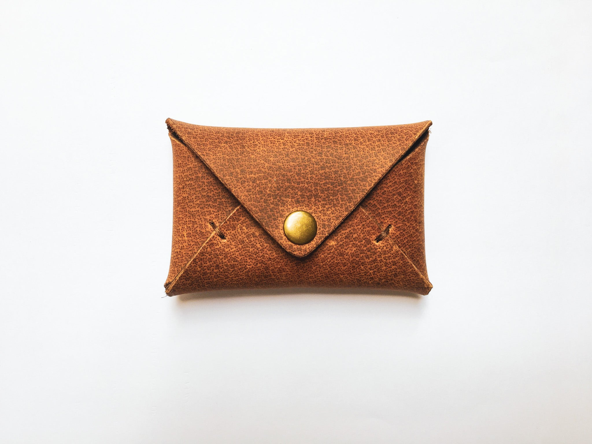 Envelope Card Case - Brown
