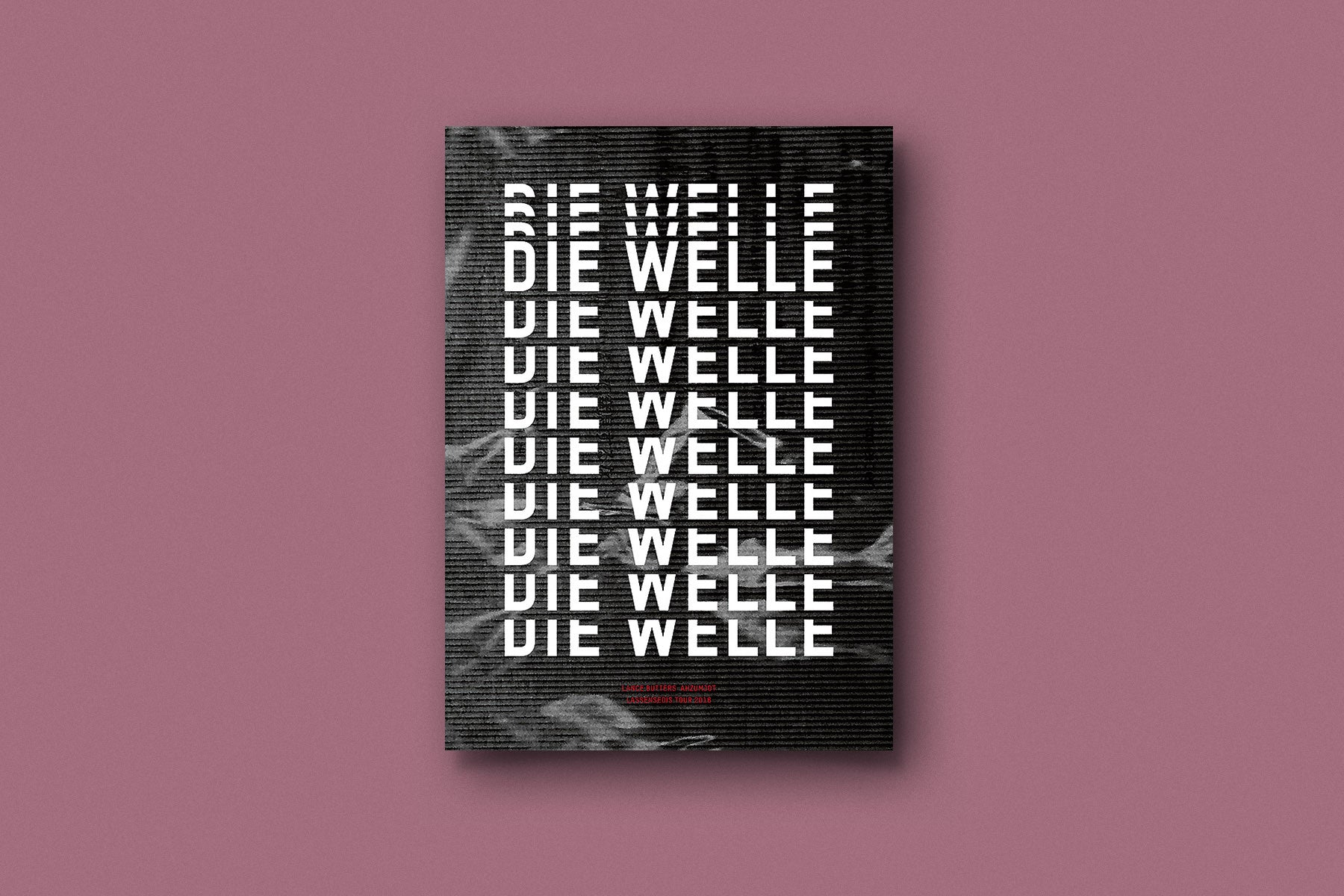 DIE WELLE (POSTER / A1)