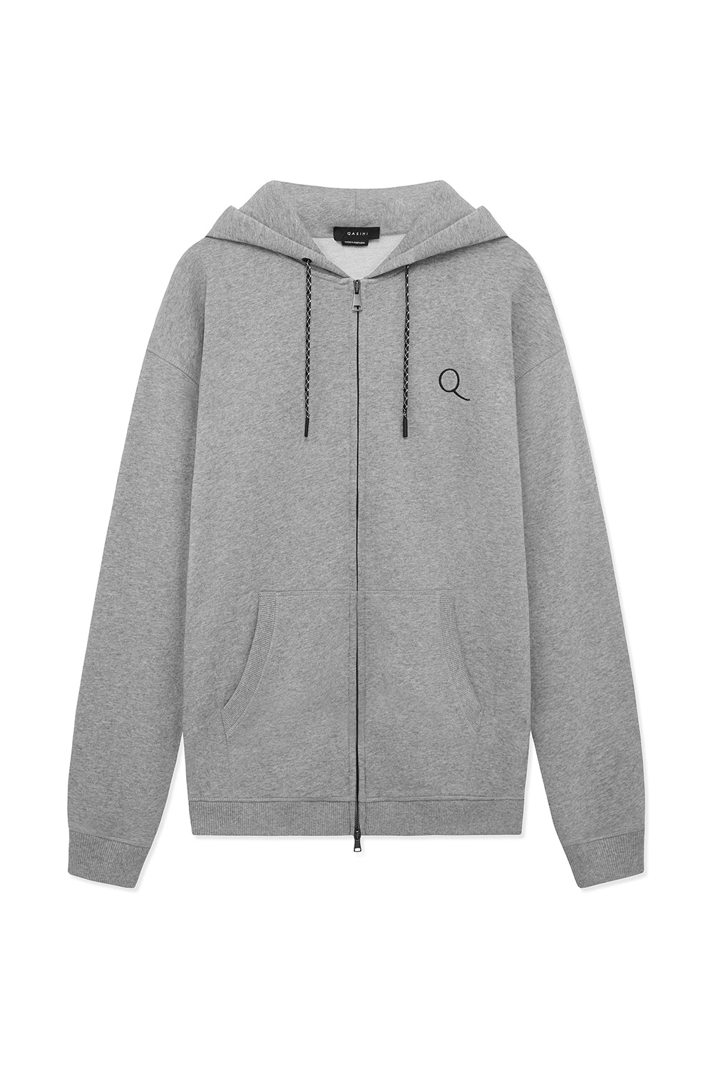 HADDAD FLEECE ZIP UP HOODIE