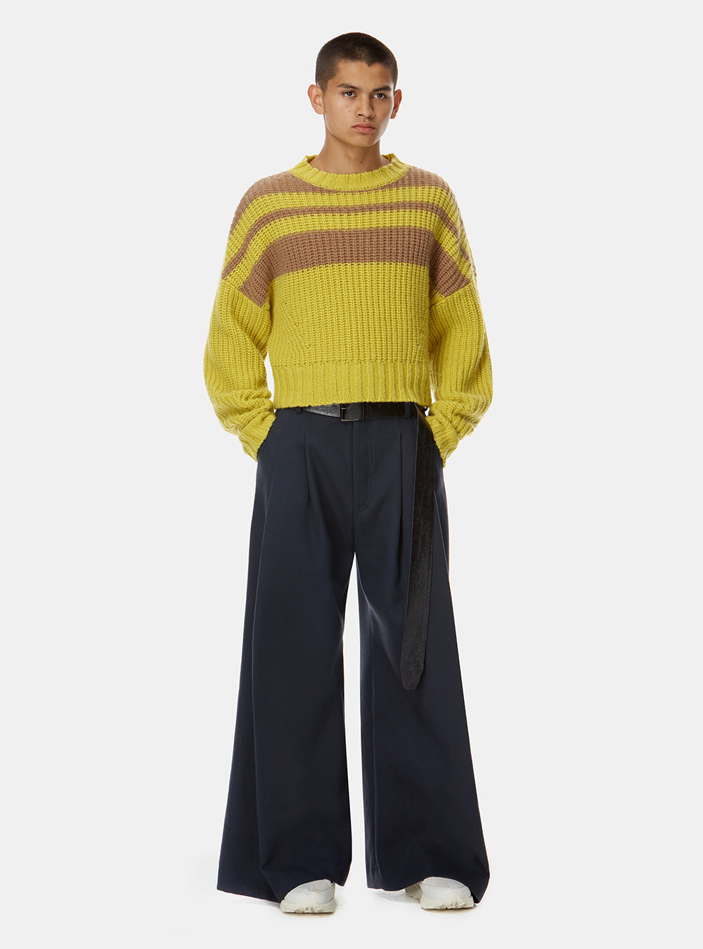 KALASH CROPPED KNIT