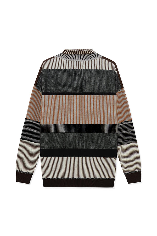 KHALDUN MERINO WOOL MIX JUMPER