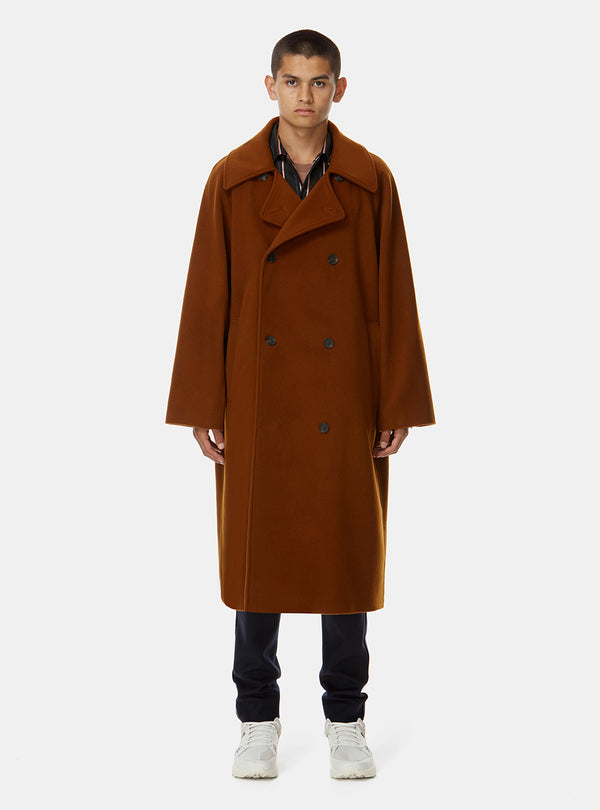 AGHORI CASHMERE LONG COAT