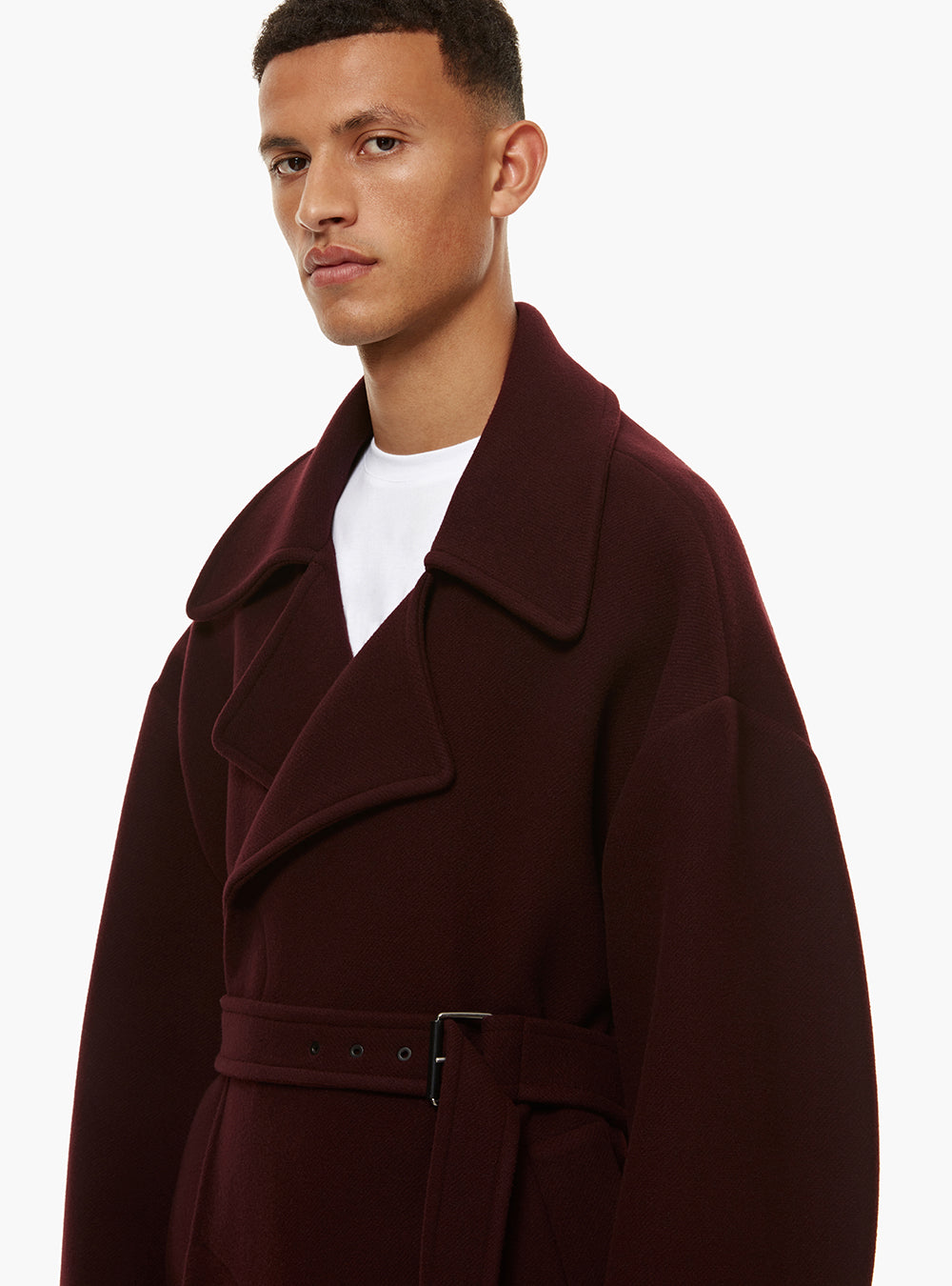 ADHAFERA OVERSIZED TRENCH COAT