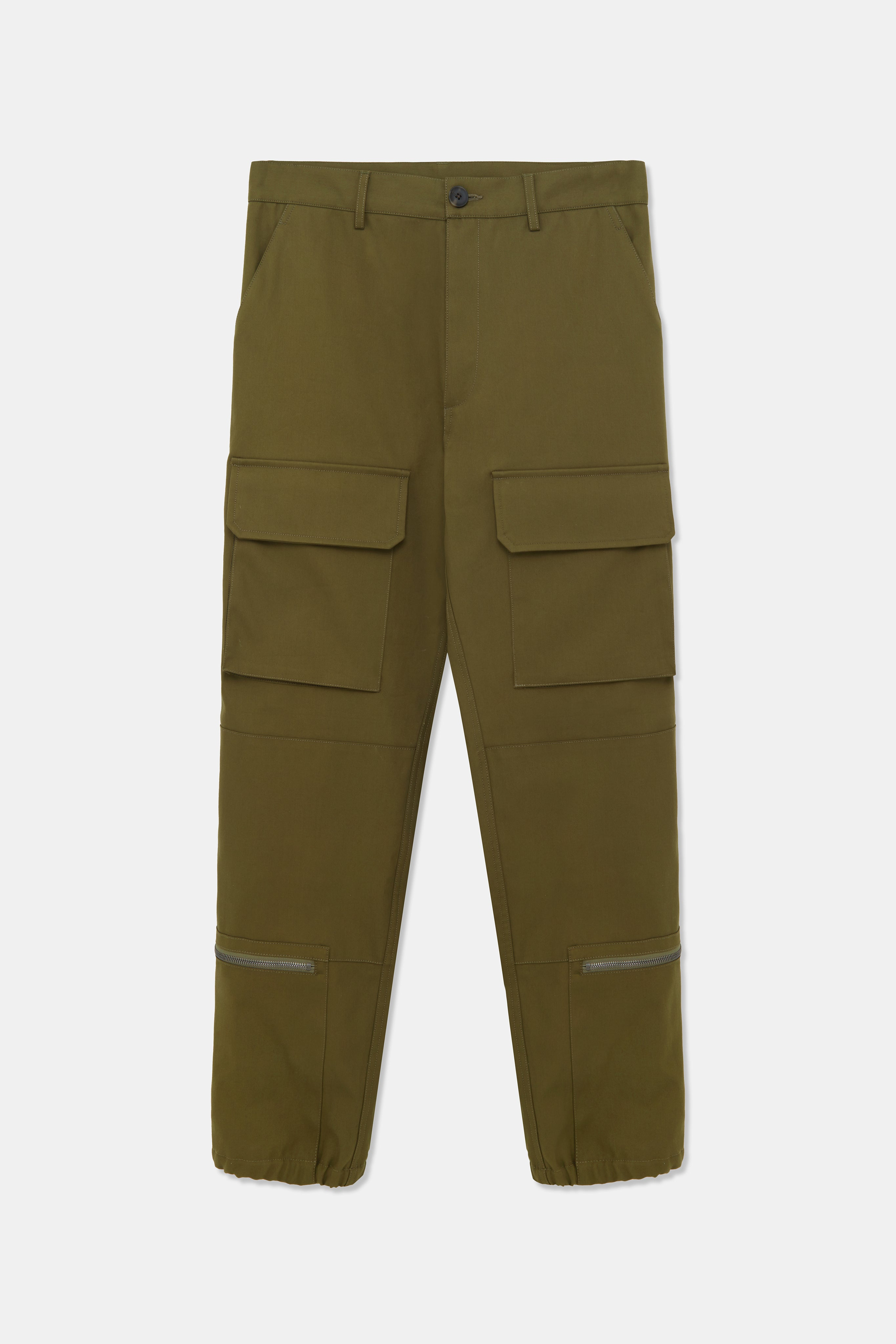 THEEMIN HEAVY TWILL CARGO TROUSERS