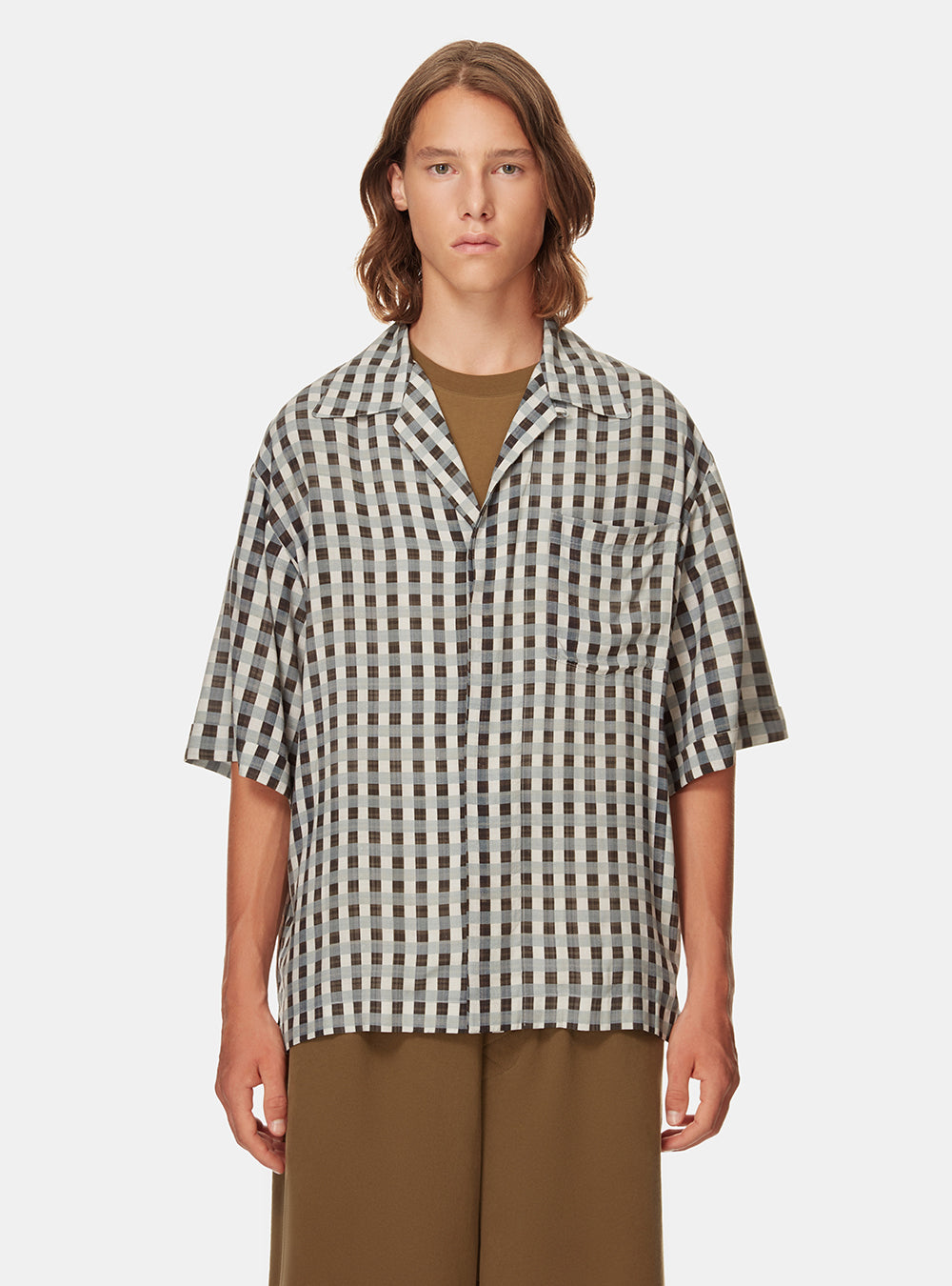 SAMIR BOXY SHORT SLEEVE SHIRT