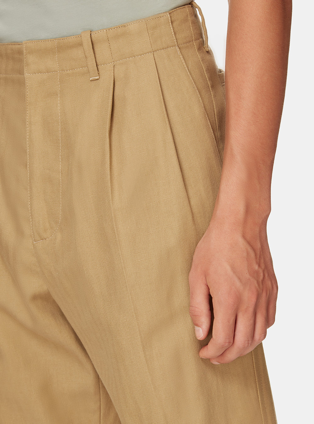TANGIER PLEAT TROUSER