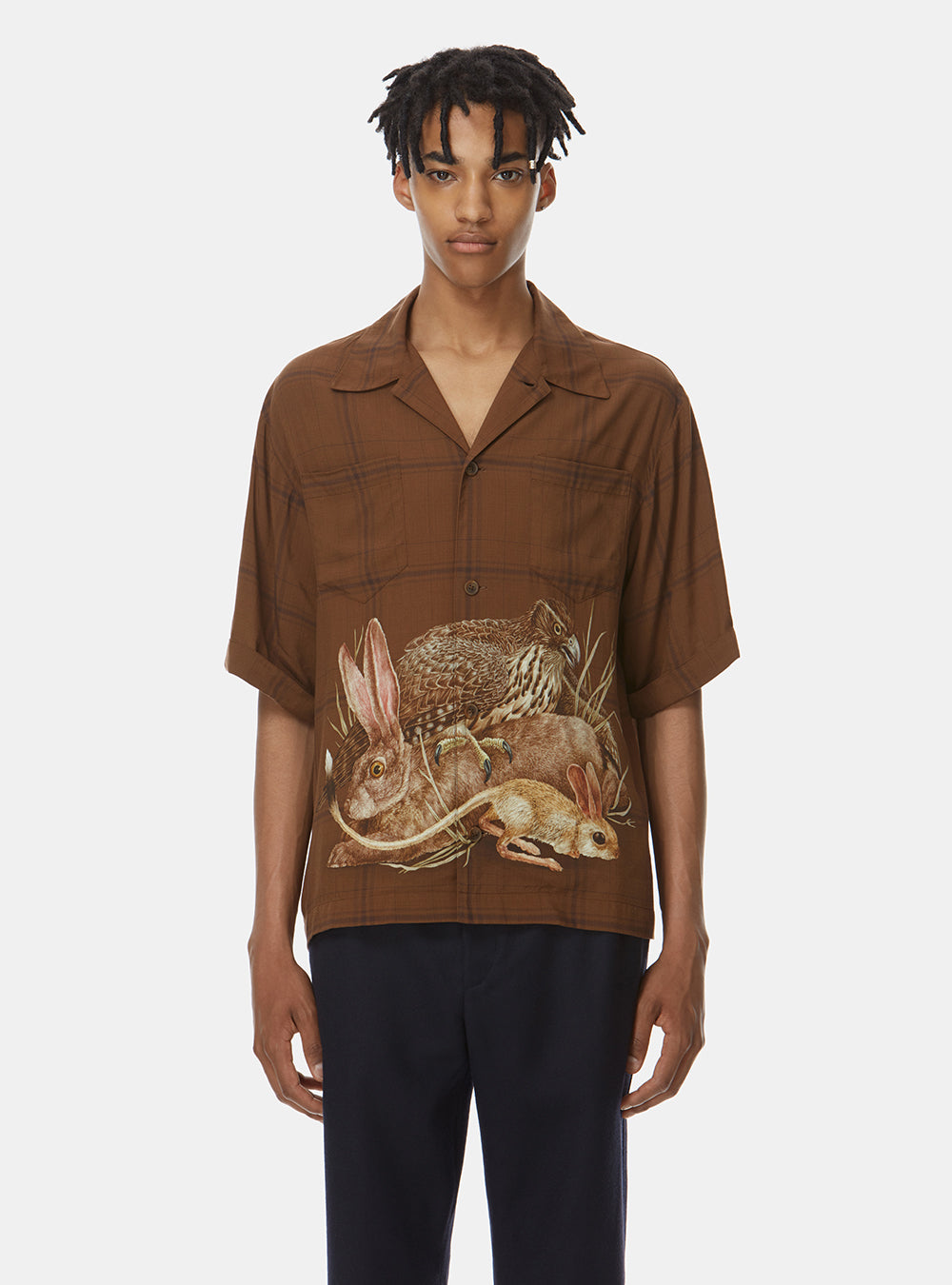 SAMBA BOXY SHORT SLEEVE SHIRT