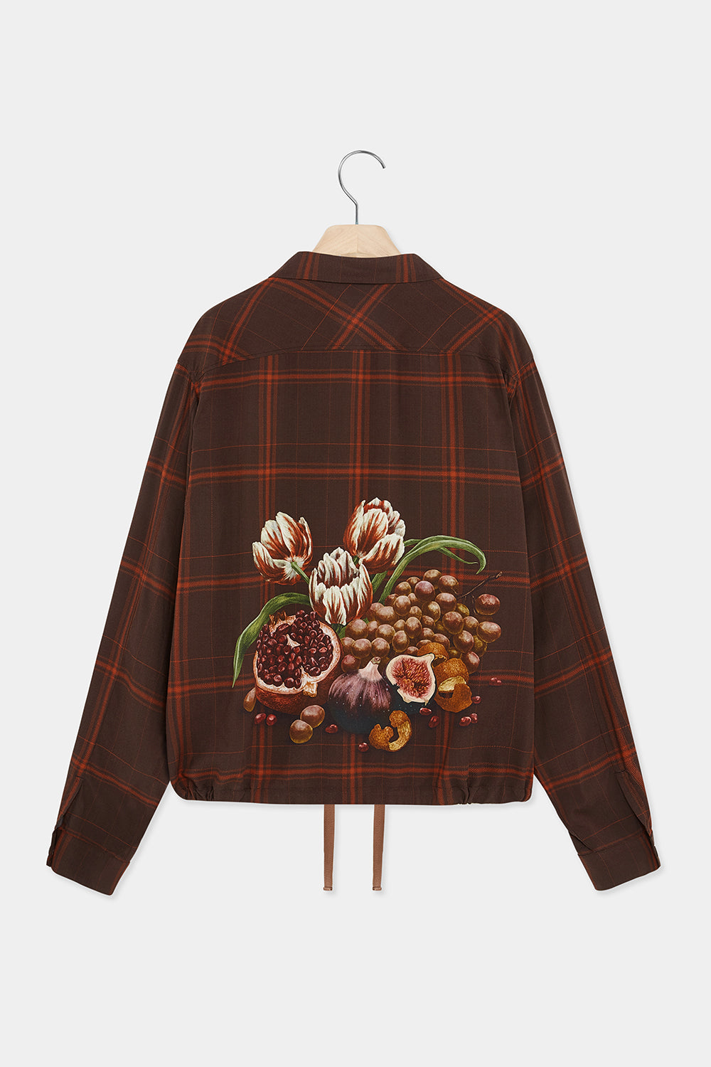 SURI PRINTED SHIRT JACKET