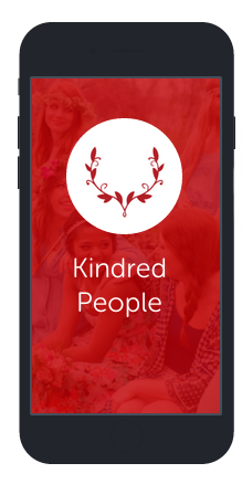 Kindred People flok app