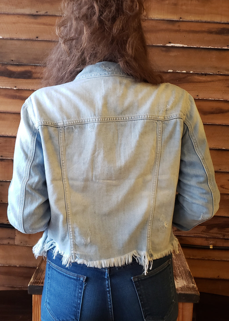 it girl denim jacket