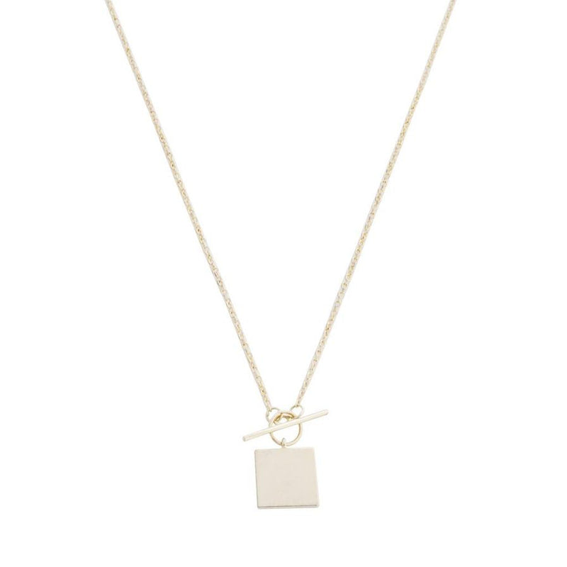 gwyneth toggle necklace