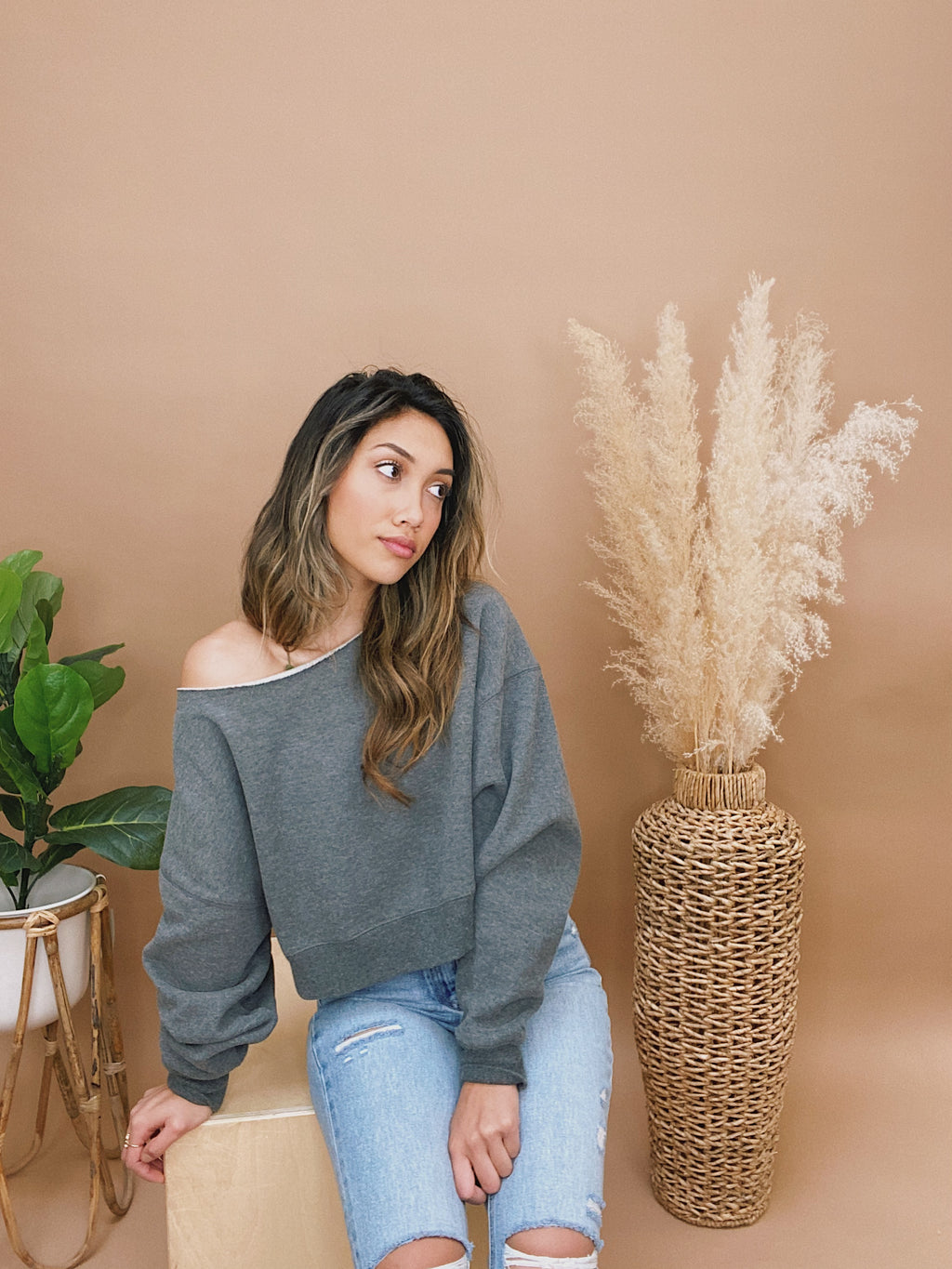 valley plaid top