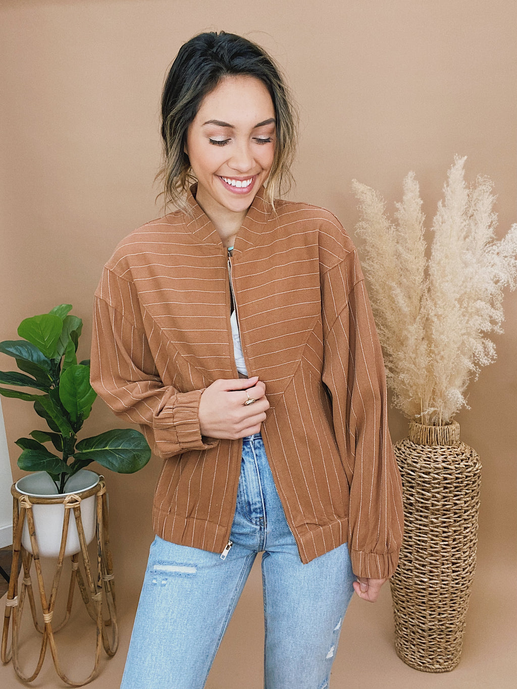 karoline striped sweater