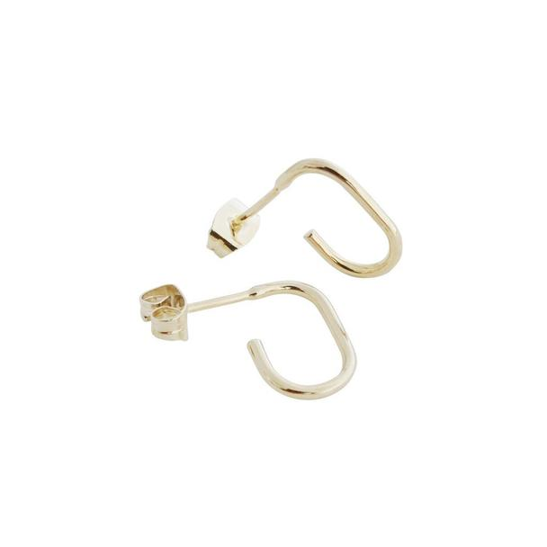 honey cat paulette oblong hoops