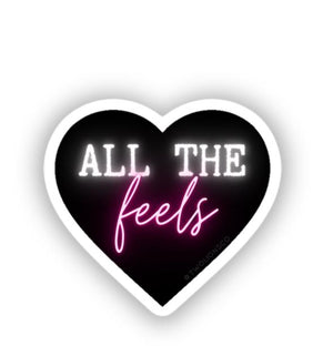 all the feels sticker