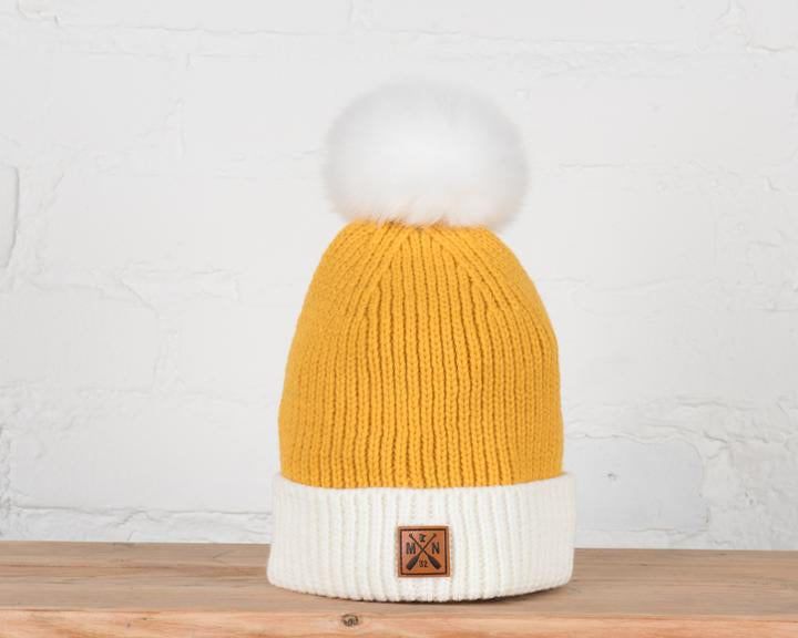 marigold youth/adult beanie