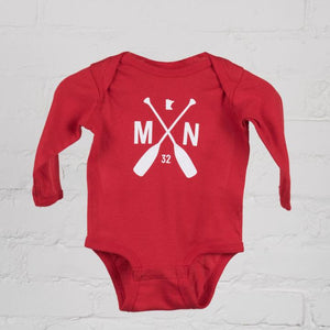 red fox longsleeve onesie