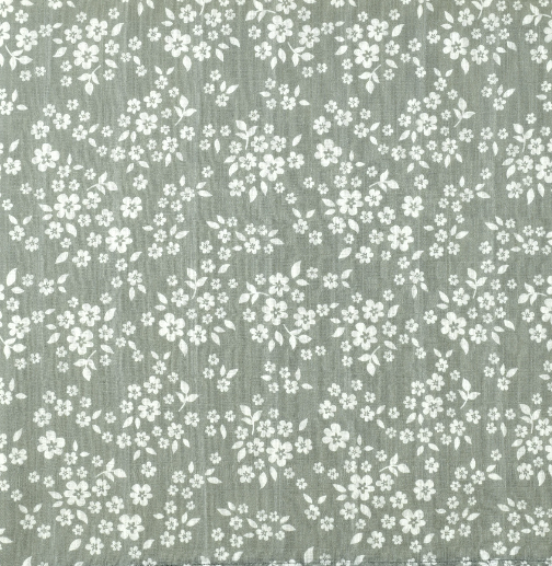 whimsy floral sage green