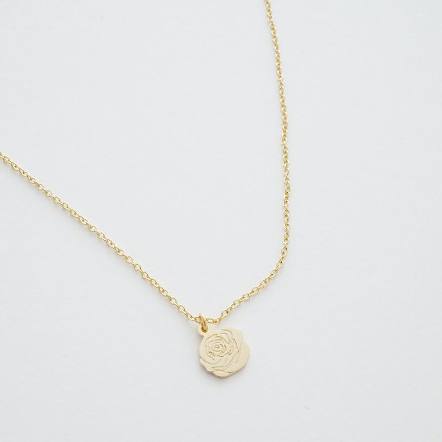 magic charm rose necklace