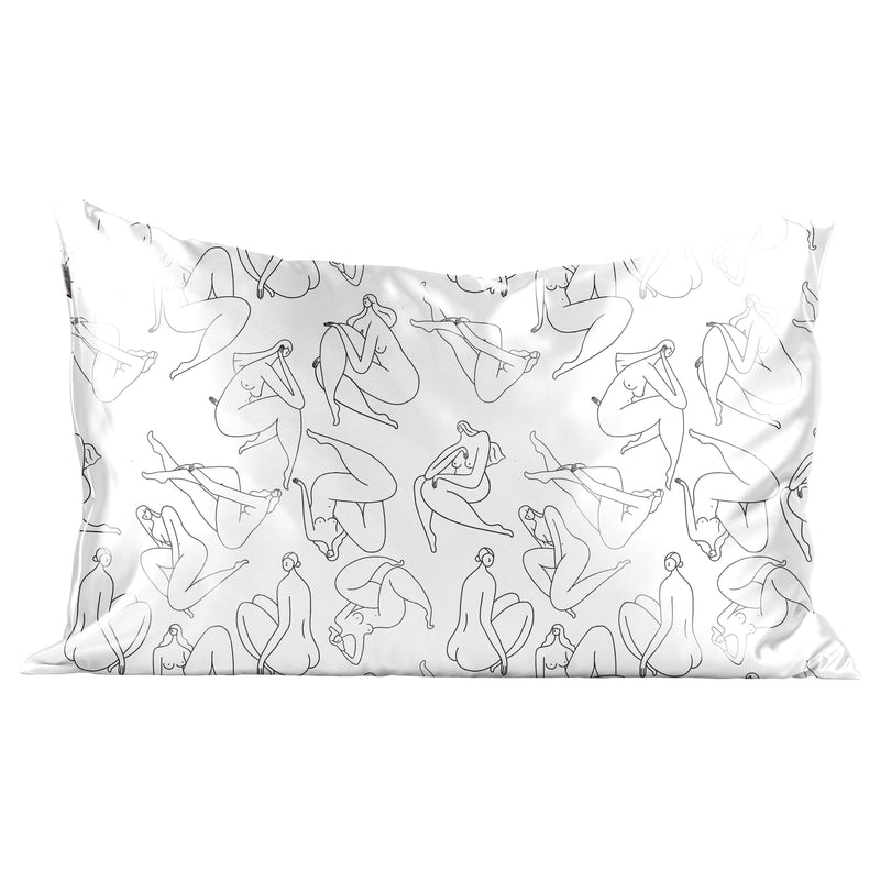 satin standard size pillowcase