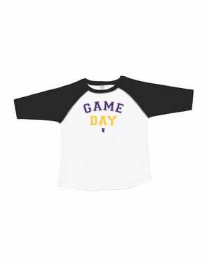 game day toddler/youth raglan