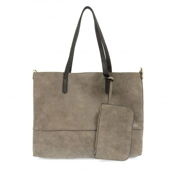 brushed 3-in-1 tote