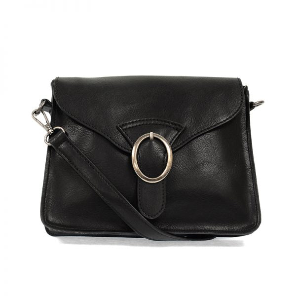 drea convertible buckle handbag