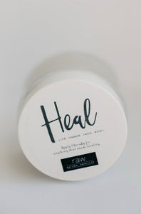 raw. HEAL body balm
