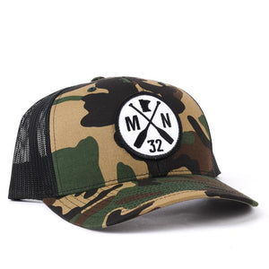 stomping grounds camo snapback
