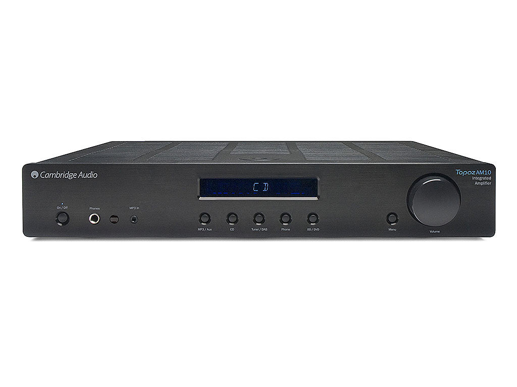 Cambridge Audio Topaz AM10 : מגבר סטריאו משולב