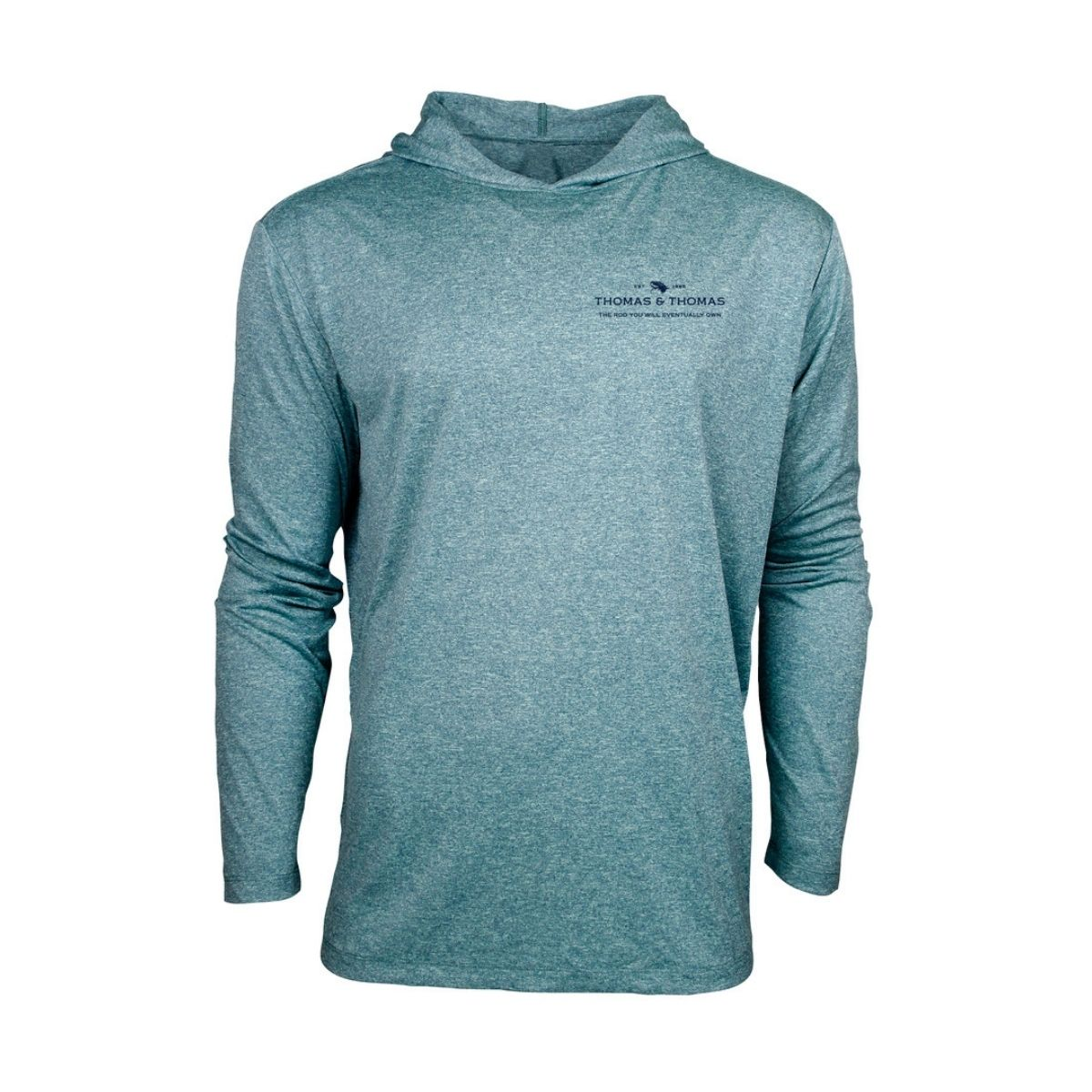 T&T Sun Hoody-Harbor Heather
