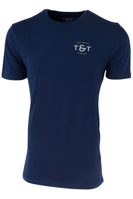 50th Anniversary T-Shirt - Navy Blue