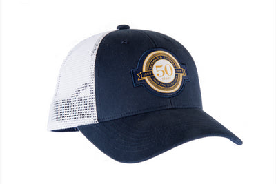 Thomas and Thomas 50th Anniversary Trucker Hat